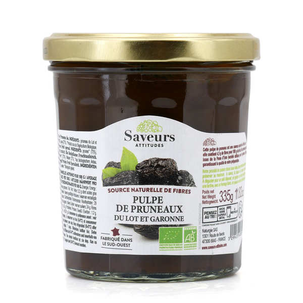 Organic Prune Pulp From France