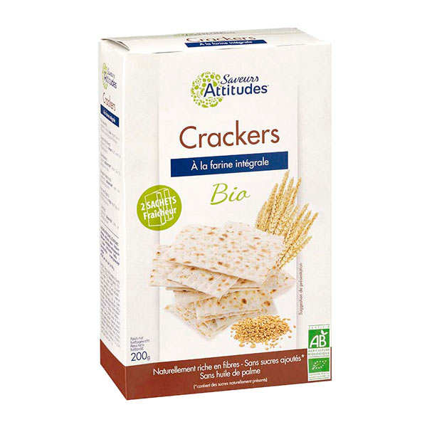 Organic Crackers Unleavened Bread Way