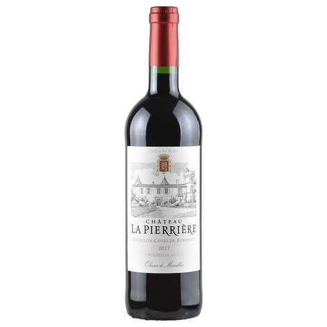 Château La Pierriere - Château La Pierrière - Côtes de Castillon vin rouge (Bordeaux)
