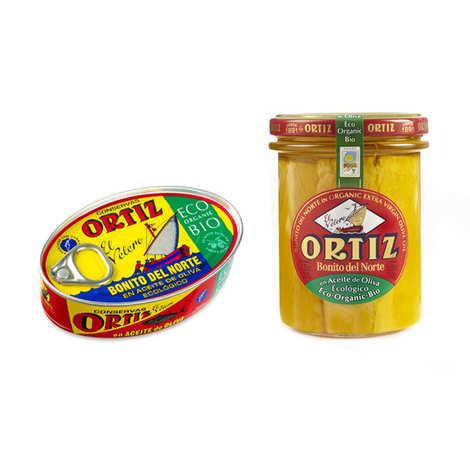 Ortiz - Organic White Tuna In Olive Oil