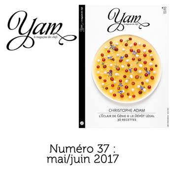 Yannick Alléno Magazine - French magazine about cuisine - YAM n°37