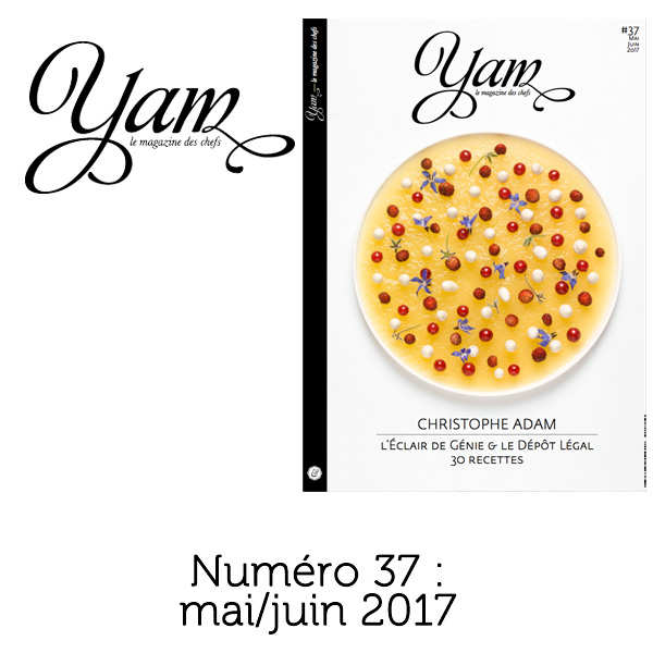 French magazine about cuisine - YAM n°37