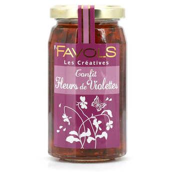 Favols - Les Créatives - Violet Flowers Confit