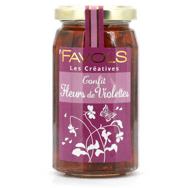Confit de fleurs de violette - Les Créatives Favols