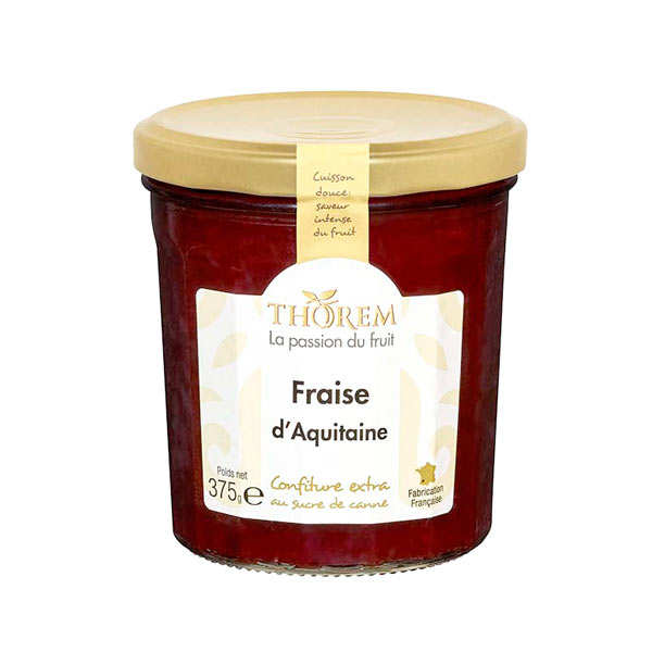 Strawberry Jam From France