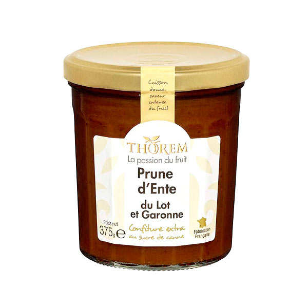 Plum Jar From France