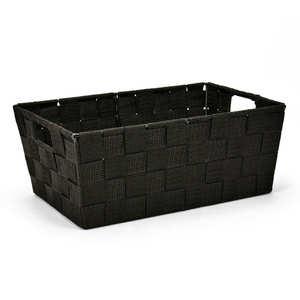 - Black Nylon Basket With Handles