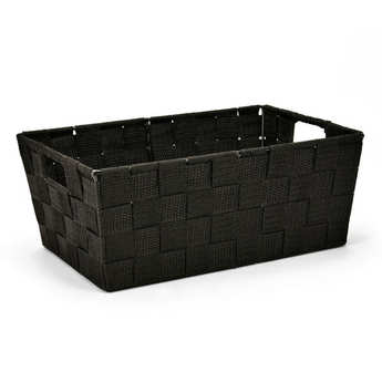 - Black Nylon Basket With Handles