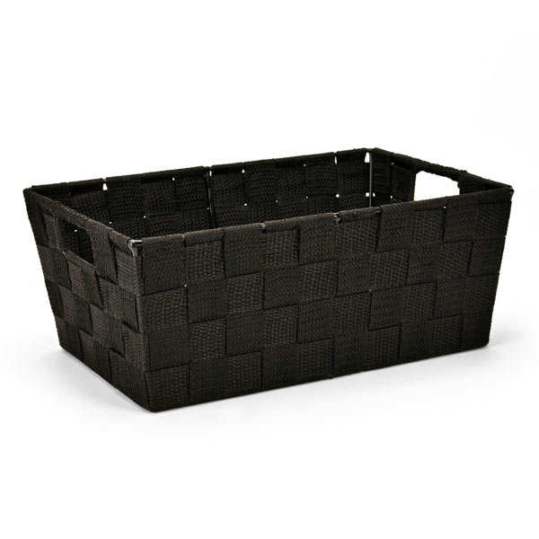 Black Nylon Basket With Handles