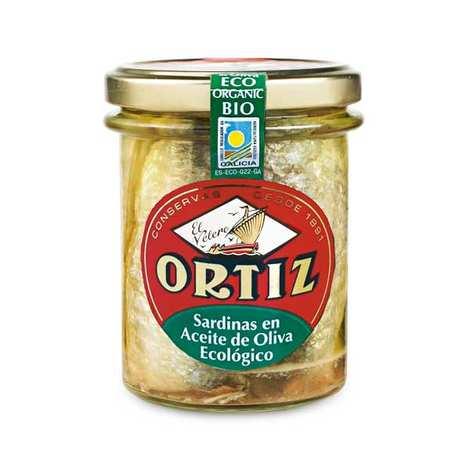 Ortiz - Organic SardinesIn Olive Oil