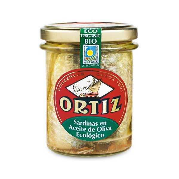 Sardines à l'ancienne à l'huile d'olive bio