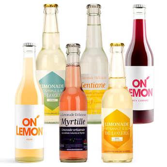 - Pack découverte de 6 limonades artisanales