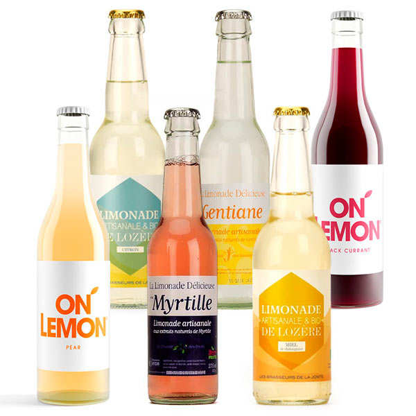 Pack découverte de 6 limonades artisanales