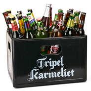 BienManger paniers garnis - Caisse découverte de 24 bières du monde