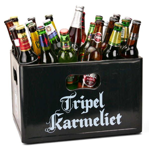 Caisse découverte de 24 bières du monde