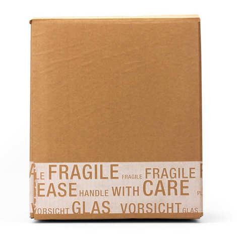 - 3 wine bottles cardboard