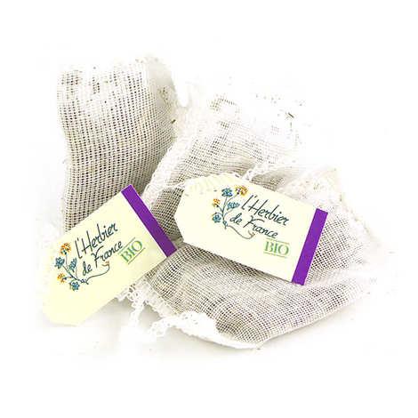 Cook - Herbier de France - Infusion Sommeil Rêverie bio en sachets mousseline