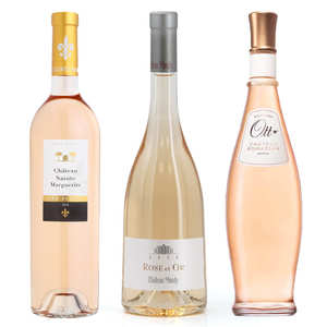 BienManger paniers garnis - 3 Exceptional Rosés from Provence