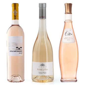 - 3 rosés d'exception de Provence