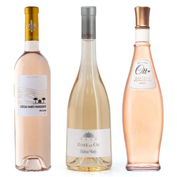 3 rosés d'exception de Provence