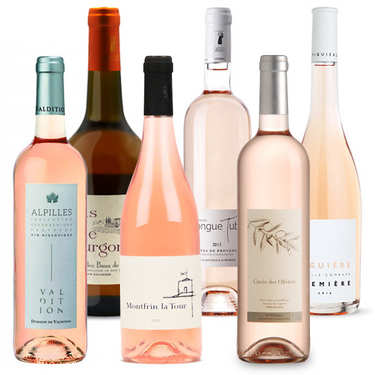 Offre découverte Plaisir - 6 vins rosés bio
