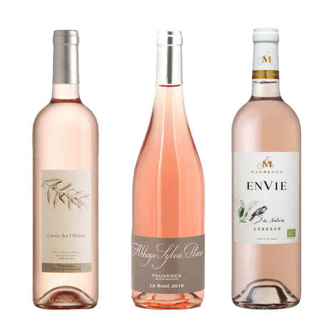 - 3 Organic Rosé Wines from France