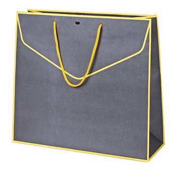 - Yellow and Grey Paper Bag