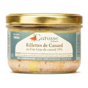 Michel Catusse - Duck Rillettes with Foie Gras