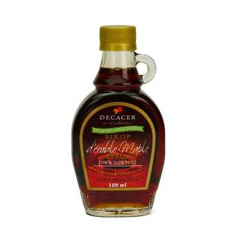 Decacer - Organic Dark Pure Maple Syrup From Canada