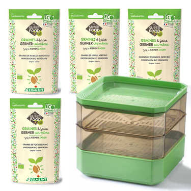 Sprouting Seeds kit for Regular