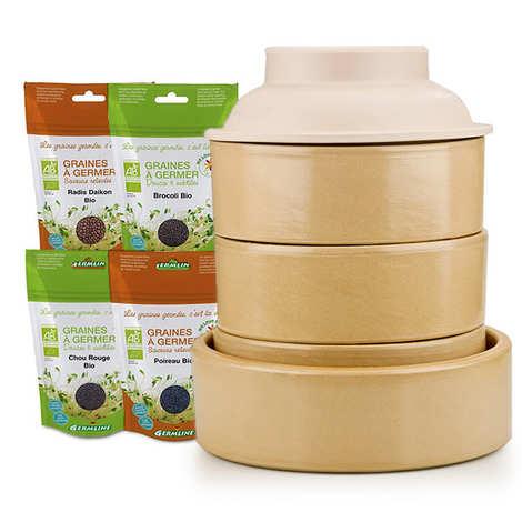 - Sprouting seeds premium kit
