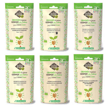 Sprouting seeds discovery offer