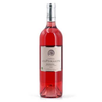 Château Les Peyroulets - Château Les Peyroulets vin Rosé Bio - AOC Bergerac - 12°