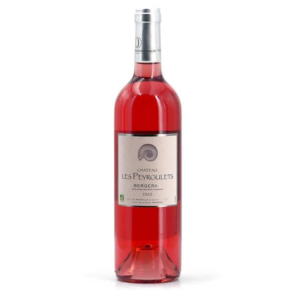 Organic Rosé Wine Château Les Peyroulets - AOC Bergerac- 12°