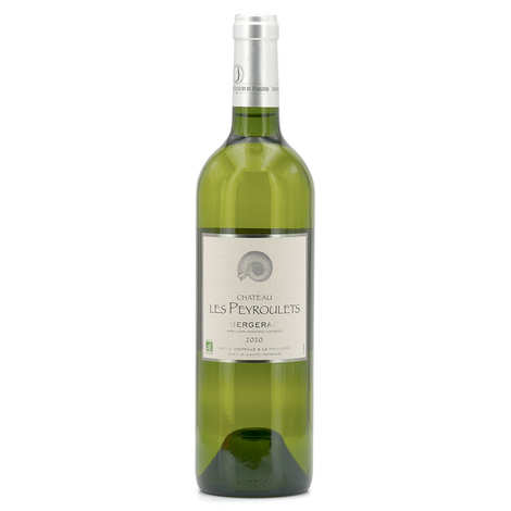 Château Les Peyroulets - Organic White Wine Château Les Peyroulets - AOC Bergerac- 12°