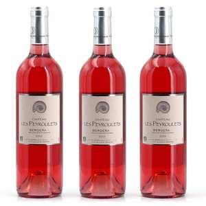 Château Les Peyroulets - 3 Organic Rosé Wines Château Les Peyroulets