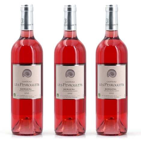 Château Les Peyroulets - 3 vins rosés plaisir bio Château Les Peyroulets