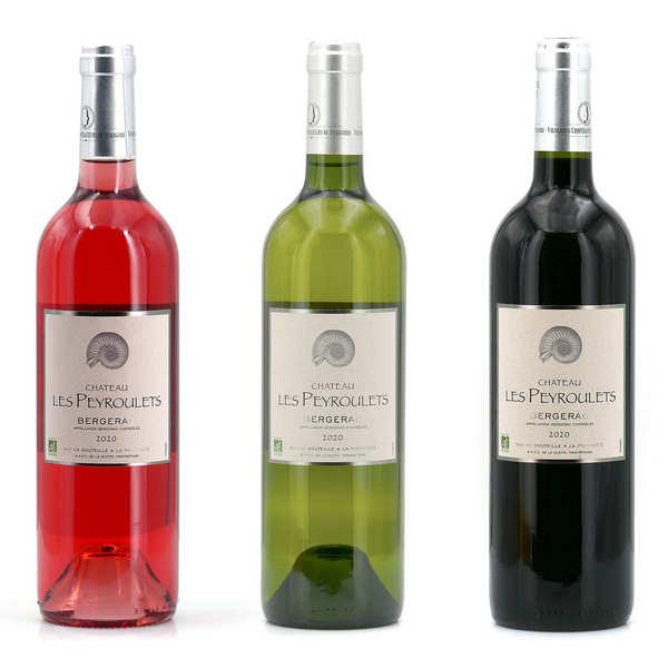 3 Organic Wines Château Les Peyroulets