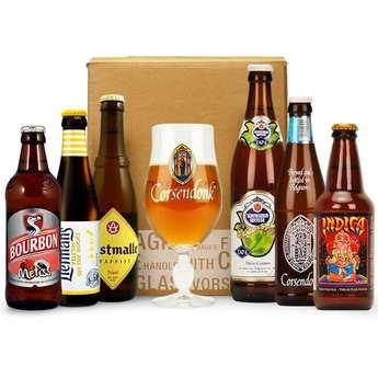 - Box découverte de 6 bières de juillet
