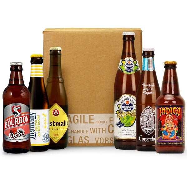 Box découverte de 6 bières de juillet