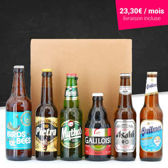 - Beers surprise box - 3 months subscription