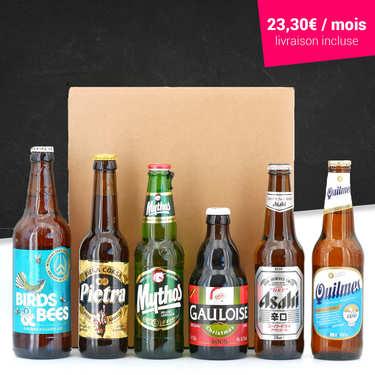 Box découverte 6 bières par mois pendant 3 mois