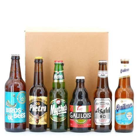 - Box découverte 6 bières par mois pendant 3 mois