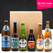 BienManger paniers garnis - Beers surprise box - 6 months subscription