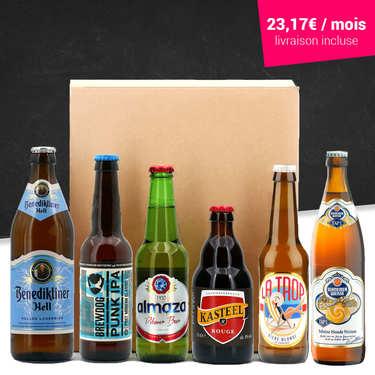 Box découverte 6 bières par mois pendant 6 mois