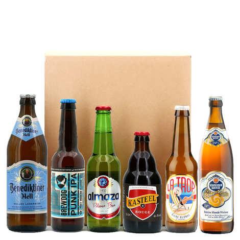 - Box découverte 6 bières par mois pendant 6 mois