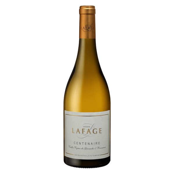 Domaine Lafage – Côtes du Roussillon blanc cuvée Centenaire