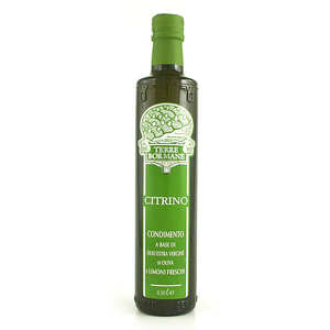 Terre Bormane - Extra virgin olive oil with fresh lemons