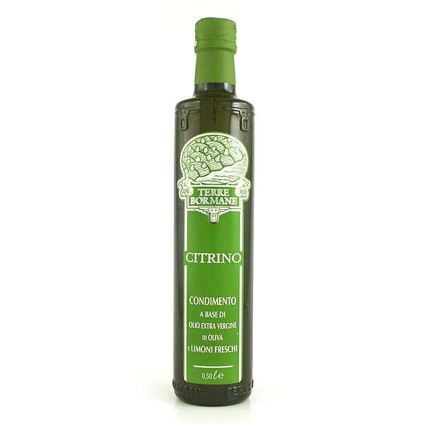 Citrino - Huile d'olive vierge extra aux citrons frais