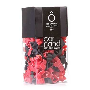 Cornand Pasta - Duo Cuttlefish Ink, Rose/Beetroot